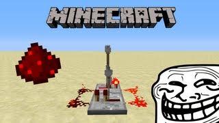 La minute Minecraft : Le troll avec de la redstone - machine à bruits