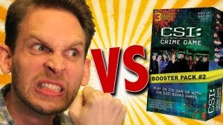 CSI: Crime Game Booster Pack #2 Unboxing