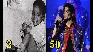 マイケル・ジャクソン Michael Jackson 2歳~50歳 続きは動画をご覧くだ...