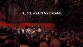 I'LL SEE YOU IN MY DREAMS - Joe Brown - Concert for George -- leg.  português  CALPS