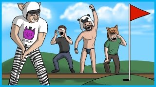 MINI GOLF RAGE!! - Golf With Friends Funny Moments!