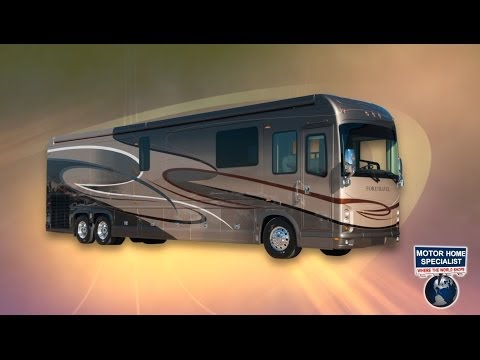 2014 Foretravel Luxury Motorcoach Review at Motor Home Specialist MHSRV.com
