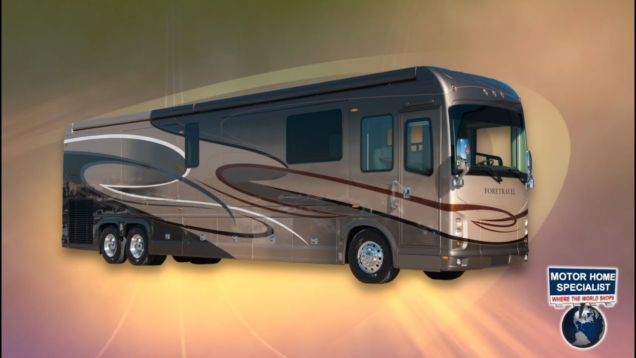 2014 foretravel luxury motorcoach review at motor home for Motor home specialist reviews