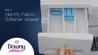 How To Use Fabric Softener - Front Loader   Downy