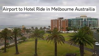 Airport to Hotel Ride in Melbourne Austrailia | Cabin Crew | Mamta Sachdeva | Travel | Hindi |