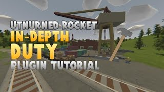 [Tutorial] Setup Duty Plugin for Unturned Rocket Server