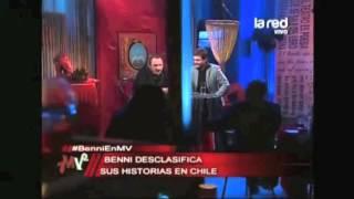 El italiano Benni analiza el lenguaje de los Chilenos en Mentiras V...