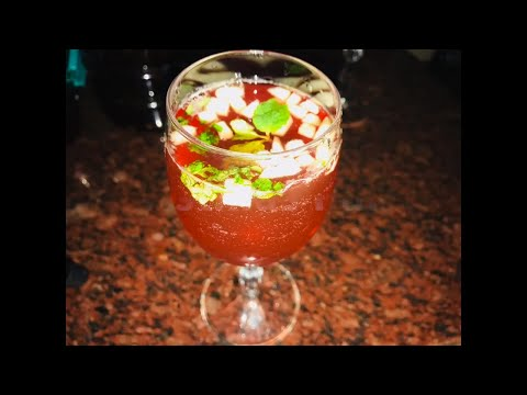 Christmas Punch/Non Alcoholic/Easy Fruit Punch
