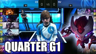 Cloud 9 vs Team EnVyUs | Game 1 Quarter Finals S6 NA LCS Summer 2016 PlayOffs | C9 vs NV G1 QF 1080p