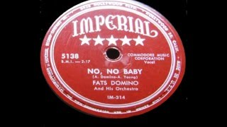 Watch Fats Domino No No Baby video