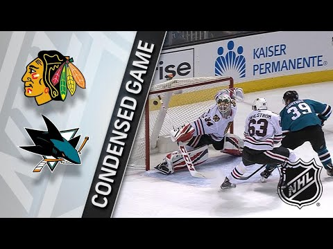 03/01/18 Condensed Game: Blackhawks @ Sharks