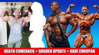 Will Phil Compete in 2019? + Shawn Rhoden New Info + Hadi Choopan in Vancouver