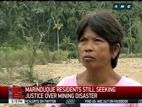 Marinduque residents still seeking justice over mining disaster