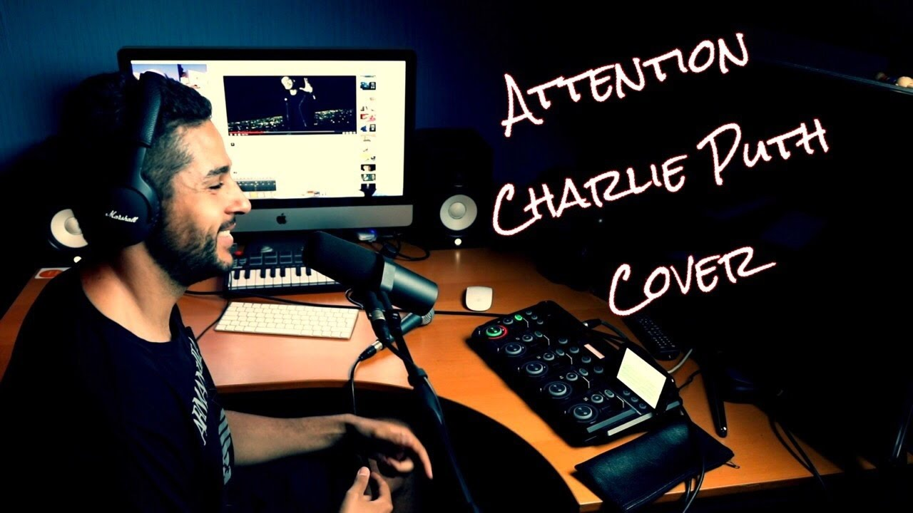 attention by charlie puth beatbox acapella loop station cover by sidi biggy