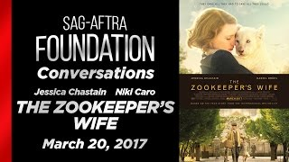Conversations with THE ZOOKEEPER'S WIFE