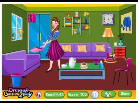 Elsa Living Room Cleaning