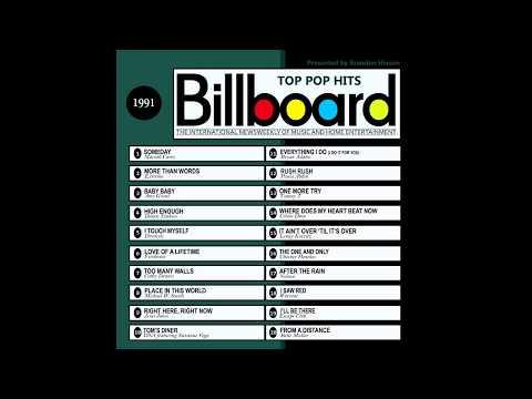 Billboard Top Pop Hits  1991