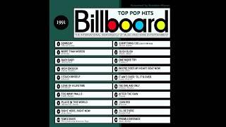 Billboard Top Pop Hits - 1991