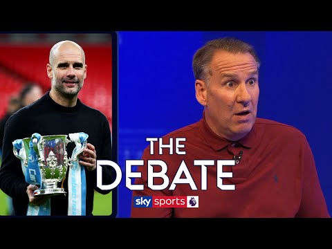 Merson & O'Hara have HEATED clash over the success of Man City and Liverpool's season! | The Debate