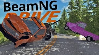 BeamNG Drive Gameplay - D15 DS Tow Truck Mod - Crashes, Stunts & More! (BeamNG Mod Highlights)