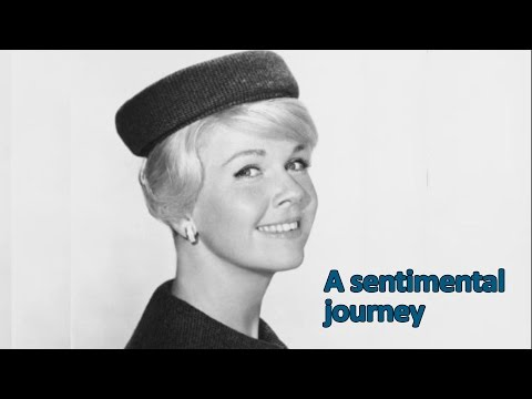 Sentimental Journey Sung by Doris Day with Subtitles for the Lyrics