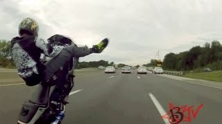 "Ride Of The Century 2012 ""ROC"" Motorcycle Stunt Riders Takeover St Louis, MO - Blox Starz TV"