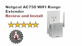 netgear AC750 Extender/Booster Review and Install