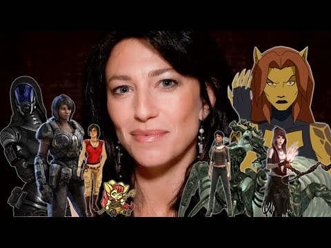 """The Many Voices of """"Claudia Black"""" In Animation & Video Games"""