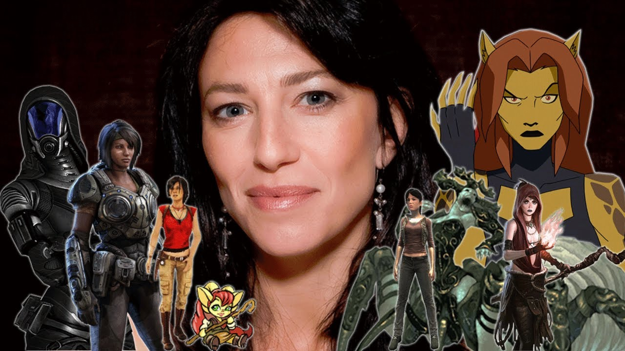 "The Many Voices of ""Claudia Black"" In Animation & Video ..."