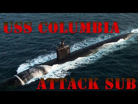 Los Angeles Class Submarine Documentary USS Columbia