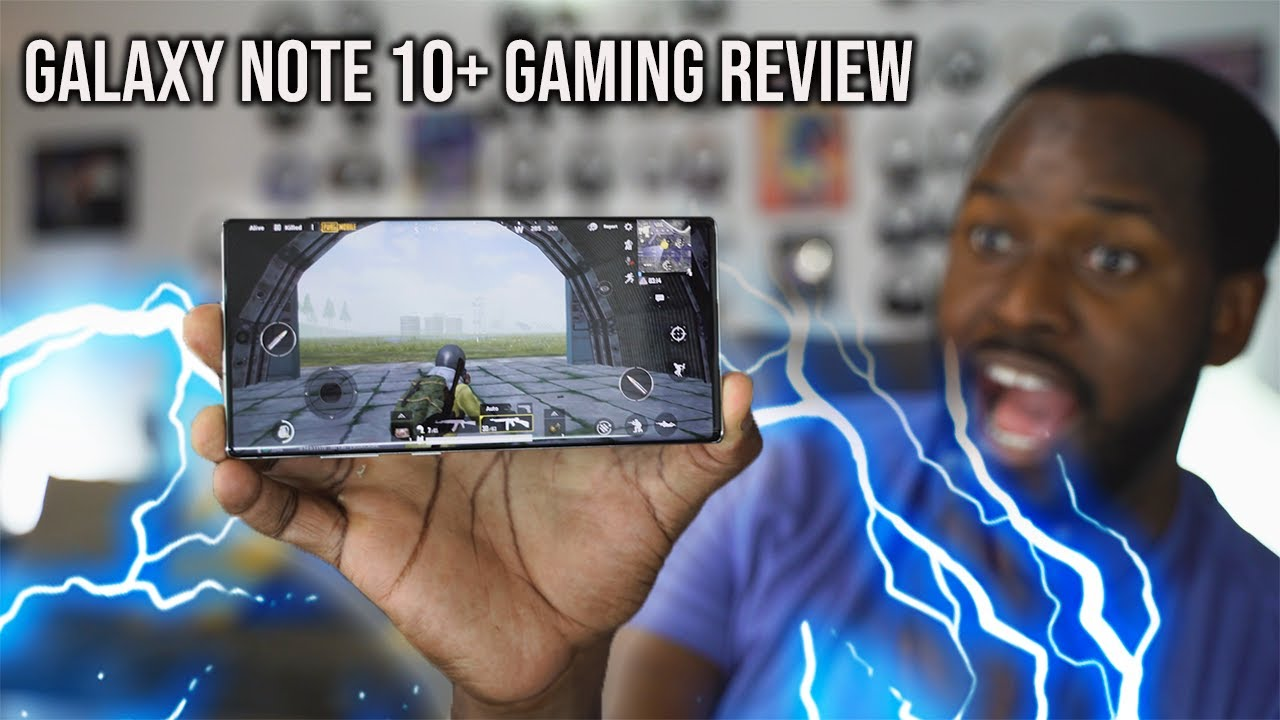 Galaxy Note 10 Plus Gaming Review // COD Mobile, PUBG, Fortnite