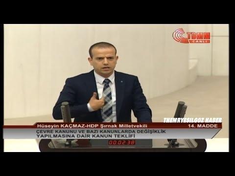 HDP ŞIRNAK MİLLETVEKİLİ HÜSEYİN KAÇMAZ MECLİS KONUŞMASI-28 KASIM 2018
