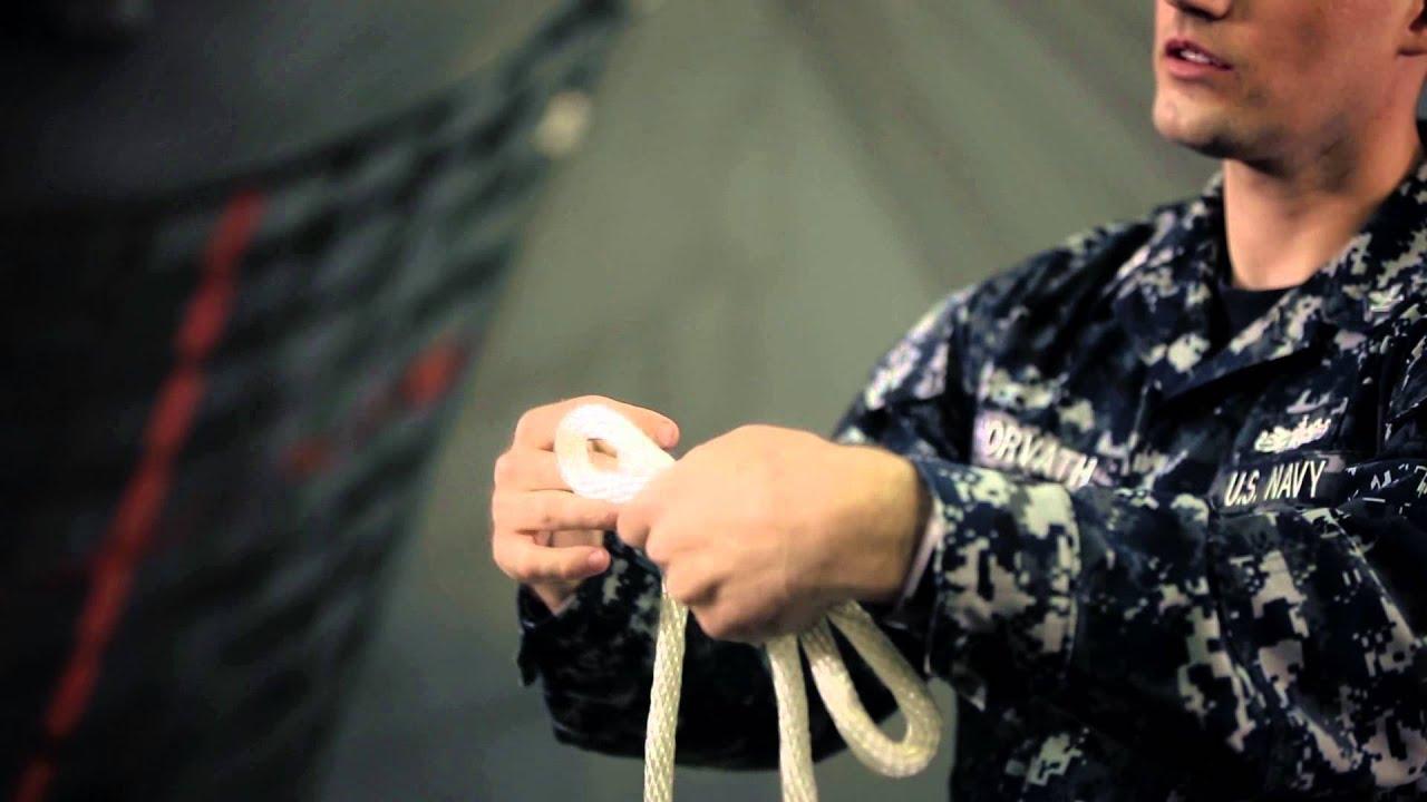 Navy Skills for Life – Knot Tying – Sheepshank