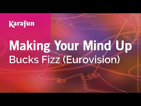 Karaoke Making Your Mind Up - Bucks Fizz *