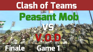 Medieval 2 Total War: Clash of Teams Tournament - Finale G1 Peasant Mob vs V.O.D