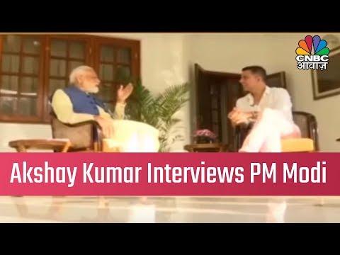 Bollywood Actor Akshay Kumar Interviews PM Narendra Modi