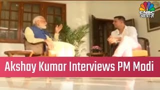 Bollywood Actor Akshay Kumar Interviews PM Narendra Modi