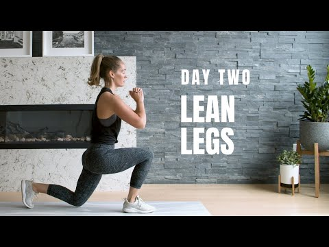 No Shortcuts Sprint and Lunge Cardio and Leg Workout