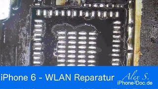 iPhone 6 kein Wlan - WLAN IC Reparatur - deutsch - microsoldering