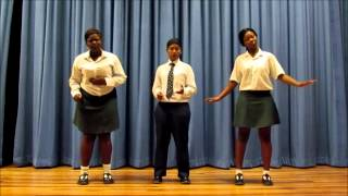 Zimkhitha, Lisa and Siziwe sings