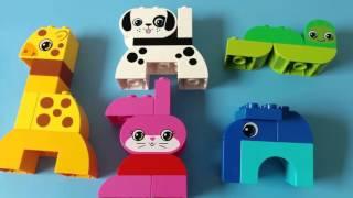 LEGO Duplo - 10573 Zoo Animals Giraffe Dog Elephant - Đồ chơi xếp hinh LEGO xếp động vật, thú cưng