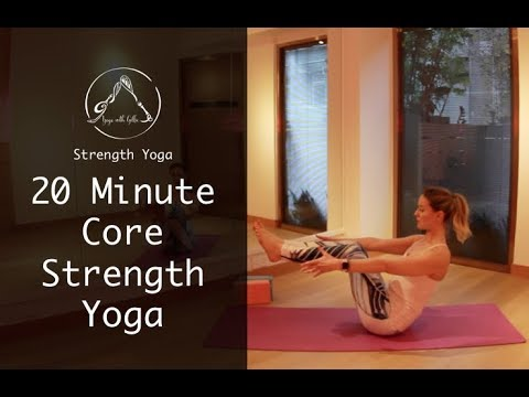 20 Minute Core Strengthening Yoga with Gillie