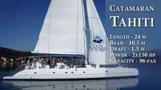 Catamaran Tahiti