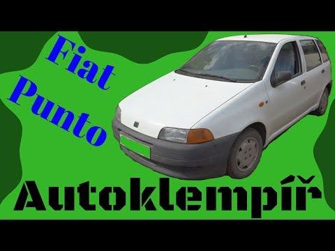 Fiat Punto (výměna prahu) (Car body repair)