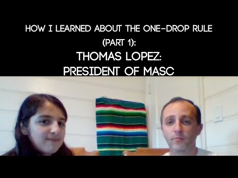 How I Learned about the One-Drop Rule: Thomas (Part 1)