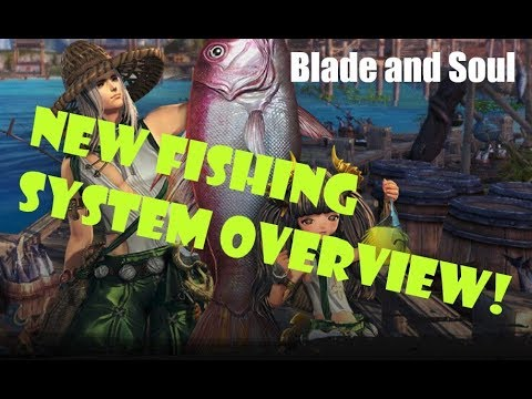 [Blade And Soul] New Fishing System Preview!