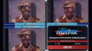GDQ HOTFIX Presents: #SGDQ2018 Hype Shows: Borderlands 2 Co-Op