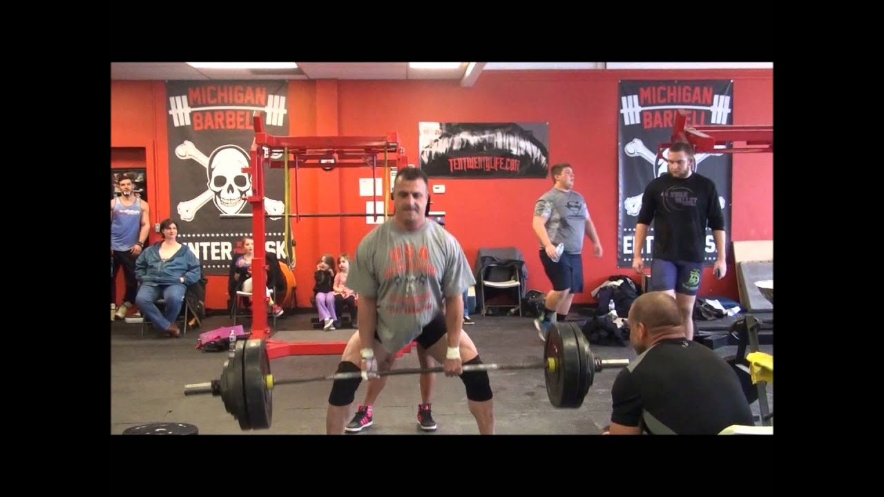 Power X - Michigan Barbell - Men\'s Deadlifting - YouTube