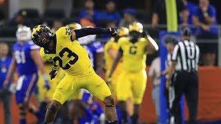#11 Michigan vs. #17 Florida 2017 Highlights || College Football Week 1 ᴴᴰ