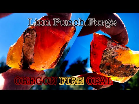 Mining Oregon Fire Opal! Juniper Ridge Trip Aftermath And Material PNW Fire Opal Southern Oregon